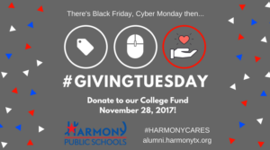 Harmony College Fund Graphic